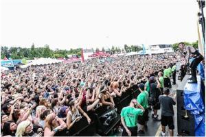 Vans Warped Tour - Black Veil Brides 2013