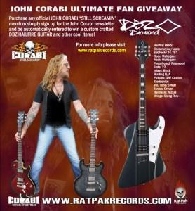 John Corabi giveaway
