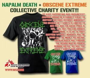 Napalm Death + Obscene Extreme