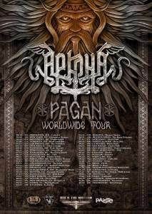 Arkona Worldwide Tour