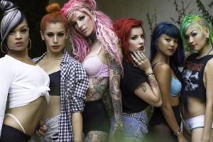 Suicidegirls Blackheart Burlesque tour
