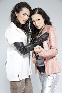 WT's Sharon den Adel & Tarja Turnen by Paul Harries - 7 inch @ 300 dpi