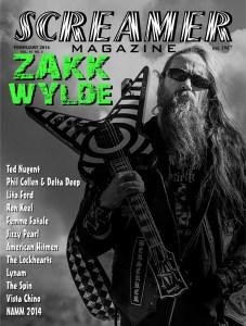 Screamer Magazine February 2014