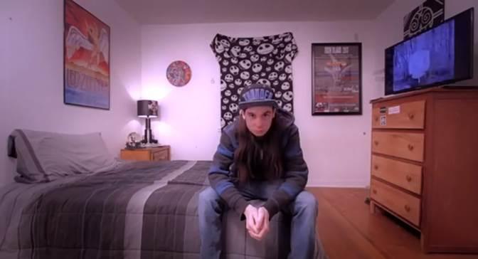 Anti-Mortem video image