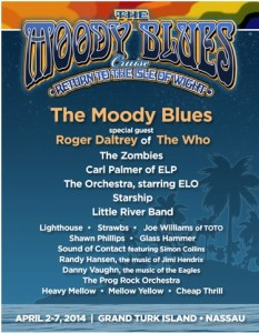 Moody Blues Cruise