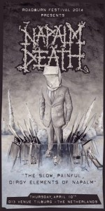 Napalm Death-poster