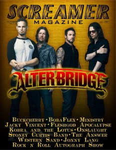 Cover Alter Bridge Oct 2013