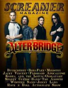 Cover Alter Bridge Oct 2013