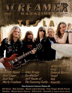 Screamer Magazine June 2014