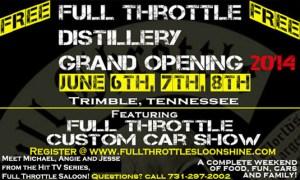 Full Throttle Saloon moonshine distillery 5-23-14