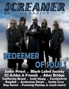 Screamer Magazine July 2014