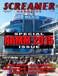 Screamer Magazine February 2015
