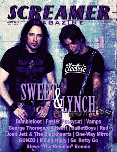 Screamer Magazine April 2015