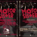 Motor Sister flyer