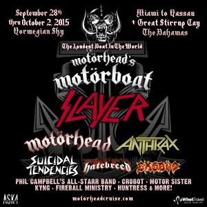 Motorhead's Motorboat 2015