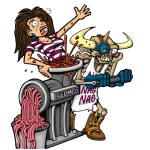 GWAR Cartoon SMALL
