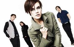 May with her former band Vedera