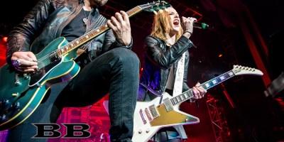 HALESTORM Live - The Grove, Anaheim, CA - Screamer Magazine