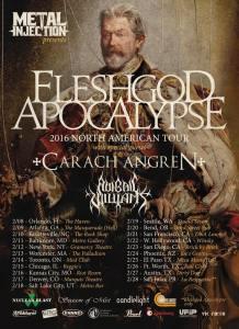 FLESHGOD APOCALYPSE - tour poster - 12-21-15