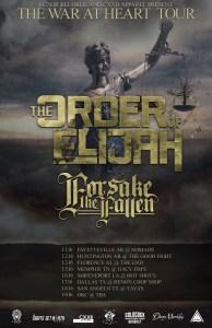 The Order of Elijah tour poster - 12-5-15