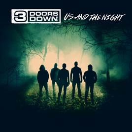 3 Doors Down Us And The Night cover