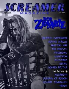 Screamer Magazine April 2016