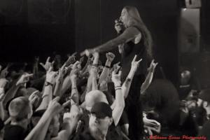 DEVILDRIVER - live shot from FB - 3-11-16