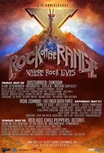 ROCK ON THE RANGE - poster - 4-7-16