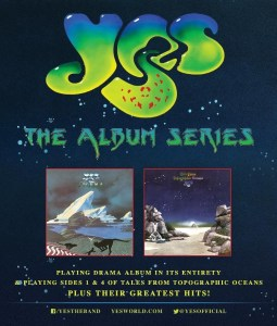 YES - Tour and LP poster - 4-11-16
