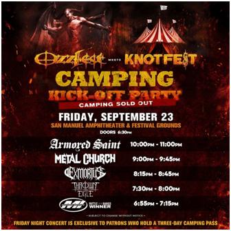 Ozzfest Meets Knotfest Poster 1