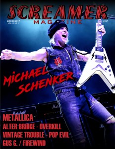 Screamer Magazine March 2017