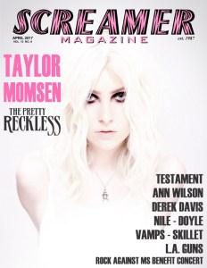 Screamer Magazine April 2017