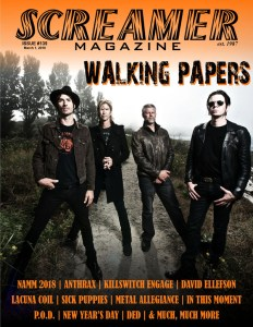 Screamer Magazine Issue #139 - March 1, 2018