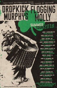 Dropkick Murphys & Flogging Molly: A Tour 20 Years In The Making Kicks Off June 1 In Cleveland
