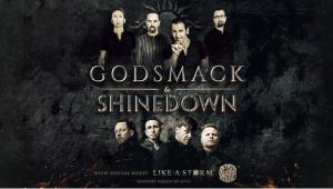 Godsmack and Shinedown Announce Co-Headlining Summer 2018 Tour