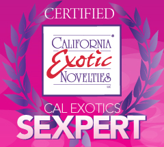I am now officially a sexpert thanks to california exotics