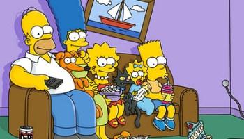 Simpsons Sofa