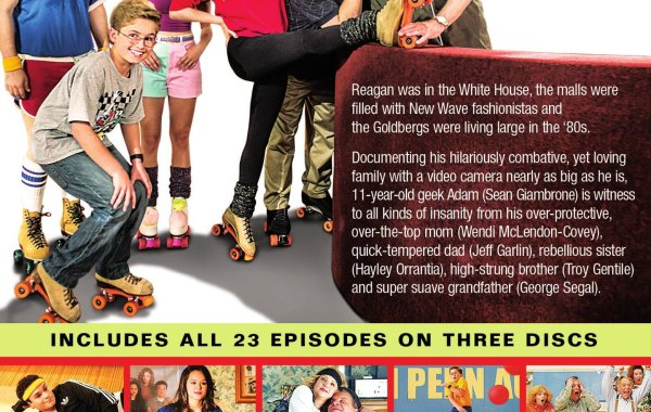 'The Goldbergs: The Complete First Season' Debuts on DVD September 9th From Sony Pictures Home Entertainment 3