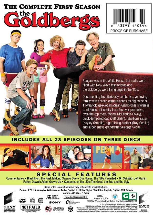 The Goldbergs_DVD_BackFlat