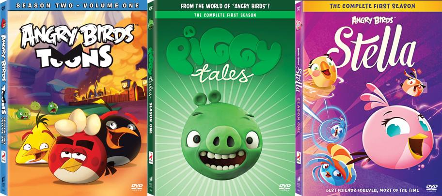 Giveaway Win All 3 New Angry Birds Toons Dvd Releases All 3