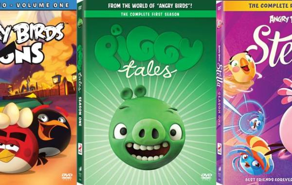 [GIVEAWAY] Win All 3 New 'Angry Birds Toons' DVD Releases: All 3 Available Separately On DVD December 1, 2015 From Sony 4