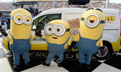 Minions Mayhem At NASCAR Ford Championship Weekend