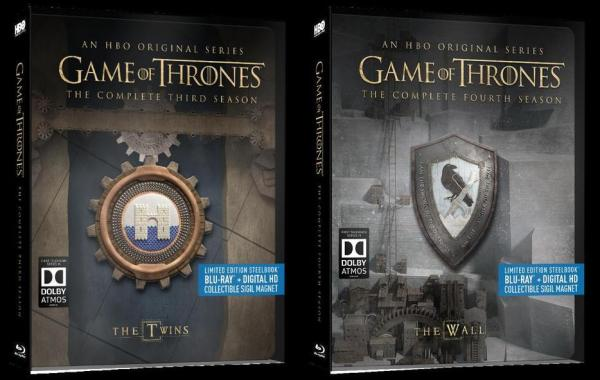 'Game of Thrones: Steelbook Seasons 3 & 4' Collector's Sets Arrive On June 7, 2016 From HBO Home Entertainment 14