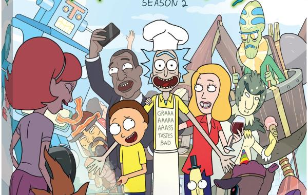 'Rick And Morty: The Complete Second Season'; Arrives On Blu-ray & DVD June 7, 2016 From Adult Swim & Warner Bros 5