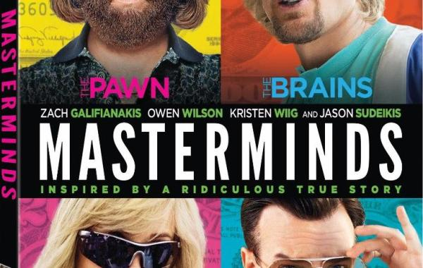 'Masterminds'; Arrives On Digital HD January 17 & On Blu-ray & DVD January 31, 2017 From Fox Home Entertainment 9