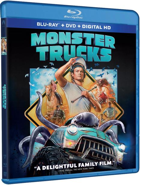 'Monster Trucks'; Arrives On Digital HD March 28 & On Blu-ray Combo Pack & DVD April 11, 2017 From Paramount 3