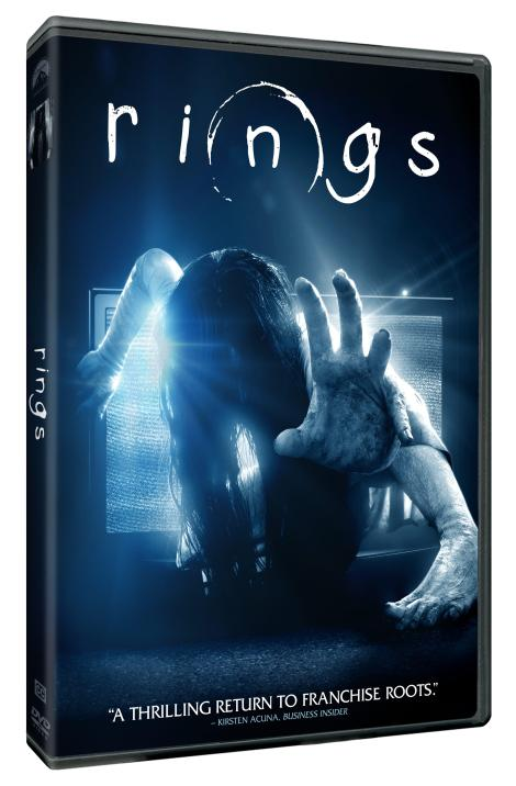 'Rings'; The Latest Entry In The Horror Franchise Arrives On Digital HD April 21 & On Blu-ray & DVD May 2, 2017 From Paramount 3