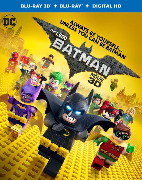 'The Lego Batman Movie'; Arrives On Digital HD May 19 & On 4K Ultra HD, Blu-ray 3D, Blu-ray & DVD June 13, 2017 From Warner Bros 4