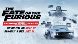 'The Fate Of The Furious'; Arrives On Digital HD June 27 & On 4K Ultra HD, Blu-ray & DVD July 11, 2017 From Universal 13
