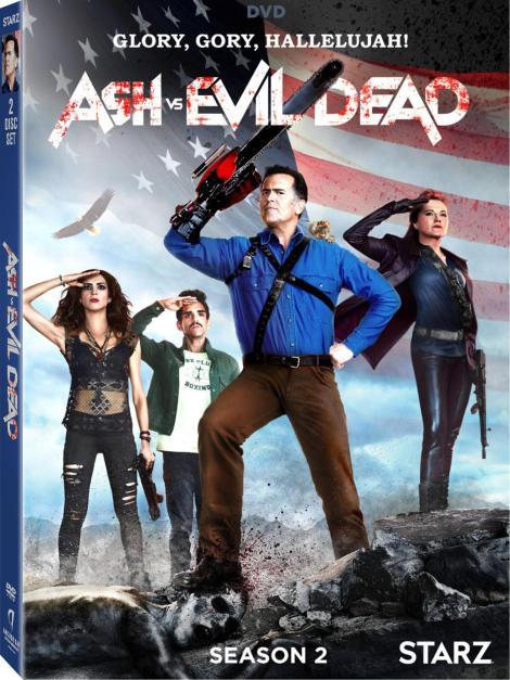 'Ash Vs Evil Dead: Season 2'; Arrives On Blu-ray & DVD August 22, 2017 From Starz & Lionsgate 5